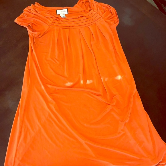 Mary McFadden Dresses & Skirts - Burnt orange Mary McFadden dress